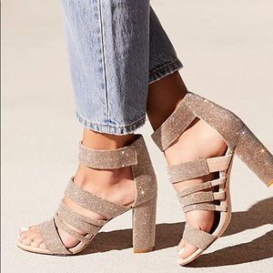 Free People X Jeffrey campbell Midnight Frost